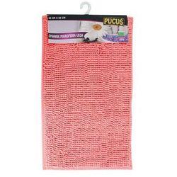 Dywanik łazienkowy mikrofibra róż 60 x 40 cm