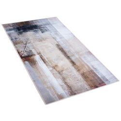 Beliani Dywan beżowy 80 x 150 cm krótkowłosy trabzon