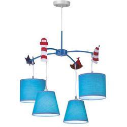 Żyrandol dziecięcy HATTY niebieski - produkt z kategorii- Oświetlenie dla dzieci
