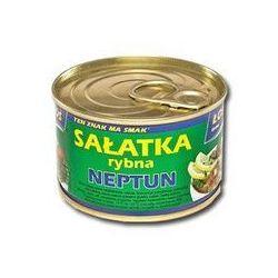 Sałatka rybna Neptun 170 g Łosoś Ustka - produkt z kategorii- Konserwy i przetwory rybne