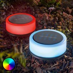 Solarne oświetlenie dekoracyjne Smart Puc 2 szt. (4260057867407)