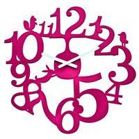 Zegar ścienny malinowy Pi:p KZ-2327583 (4002942188644)