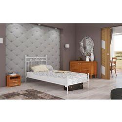 łóżko metalowe kalia 100 x 200 marki Frankhauer
