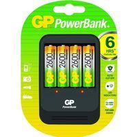 GP Batteries ładowarka PB570 GS270-UC4, - produkt z kategorii- Ładowarki do akumulatorów