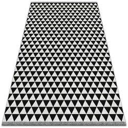 Nowoczesny dywan na balkon wzór Nowoczesny dywan na balkon wzór Wzór trójkąty