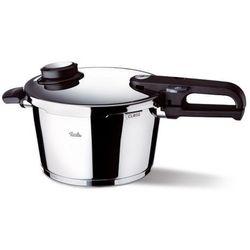 vitavit premium - szybkowar 4,5 l z wkładem do gotowania na parze - 4,50 l marki Fissler
