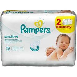 Chusteczki nawilżane PAMPERS Sensitive (2 x 56 sztuk)