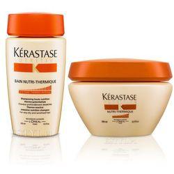 Kerastase Nutritive Nutri-Thermique - Zestaw do włosów suchych: Kąpiel 250 ml + Maska 200 ml(zestaw) - oferta [35744074e705240b]