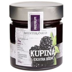 BLACKBERRY Extra Jam 250g - Mediteranico, towar z kategorii: Dżemy i konfitury