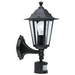 laterna 4 lampa kinkiet sensor e27 1x60w 22469 marki Eglo