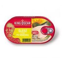 Śledź po gdańsku w oleju 170g  od producenta King oscar