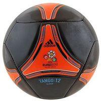 Piłka nożna Adidas Tango 12 glider 5 czarno-czerwona - Czarno-czerwona ||Biało - czarny (4051932357591)