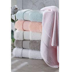Soft cotton Ręcznik elegance 50x100cm biały