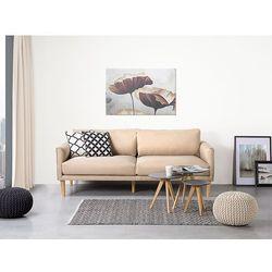 Sofa beżowa - kanapa - sofa tapicerowana - UPPSALA z kategorii Sofy