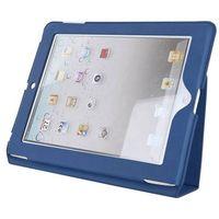 Etui 4WORLD Etui na iPad 2 9.7 cali Slim Granatowy, kolor niebieski