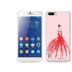 Fantastic Case - Huawei Honor 6 Plus - etui na telefon Fantastic Case - czerwona suknia - sprawdź w wybranym