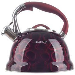 King hoff Kinghoff czajnik stalowy czerwony 2.7 l indukcja