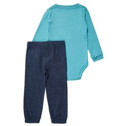 Carter's SET Body light blue z kategorii Body niemowlęce