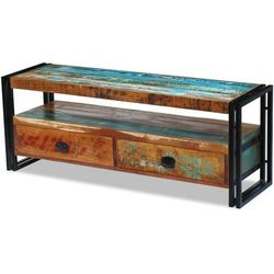Szafka pod tv z drewna z odzysku marki Vidaxl