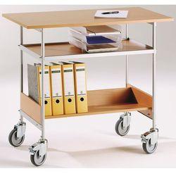 Wózek stołowy, nośność 150 kg, pow. robocza 1000x550 mm. szkielet lakierowany pr marki Unbekannt