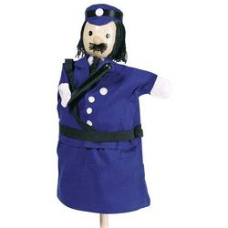Goki, Pacynka na rękę, Policjant