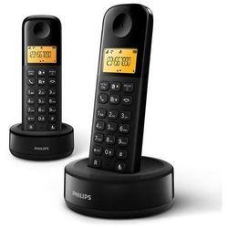 telefon stacjonarny d1302b wyprodukowany przez Philips