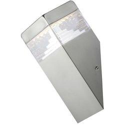 Kinkiet zewnętrzny ogrodowy lampa ścienna Rabalux Genf 1x6,5W LED IP54 inox 8249