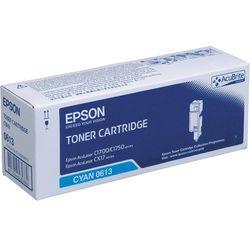 Epson oryginalny toner C13S050613, cyan, 1400s, high capacity, Epson Aculaser C1700 (8715946484860)