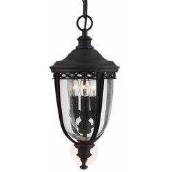 Elstead Lampa zwis english bridle fe/eb8/m blk ip44 - lighting - sprawdź mega rabaty w koszyku! (5024005344308)