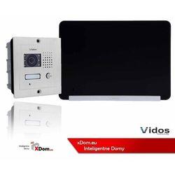 Zestaw Wideodomofonu Vidos stacja bramowa monitor 7'' S601_M690BS2