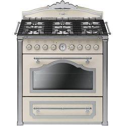 Smeg CC9GPX (elektryczno-gazowa kuchenka)