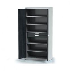 B2b partner Szafa warsztatowa - 5 półek, 2 szuflady
