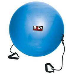 Piłka gimnastyczna Antiburst z gumami fitness BB 001TR 65 cm - Body Sculpture - produkt z kategorii- piłki i skakanki