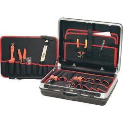 Walizka narzędziowa TOOLCRAFT 821611, 21 elementów, (DxSxW) 490 x 420 x 185 mm, Kolor: czarny, 821611