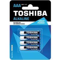 TOSHIBA Bateria Alkaline AAA LR03 TOSHIBA LR03 ALKALINE AAA z kategorii Latarki