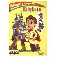 Książęta Malowanki z nalepkami Karol (9788361972372)