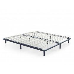 Beliani Stelaż do łóżka 140x200 cm wolnostojący 48 listewek basic (7105277684014)