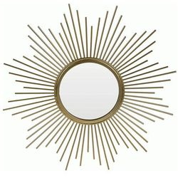 Glamour lustro Starro - złote