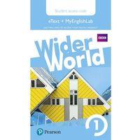 Wider World 1 MyEnglishLab & eBook Students´ Access Card neuveden (9781292106403)