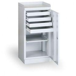 Szafka warsztatowa z szufladami, 500x1090x435 mm