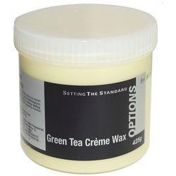 Wosk do depilacji kremowy z zieloną herbatą - 425g od producenta B&m professional