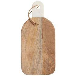 Deska do krojenia i serwowania palisander i marmur - Kitchen Craft