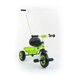 Milly Mally TURBO rowerek 3-kołowy green z kategorii rowerki trójkołowe