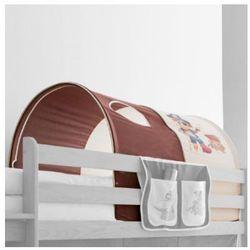 Ticaa tunel do łóżek piętrowych pirat kolor beżowo-brązowy od producenta Ticaa kindermöbel