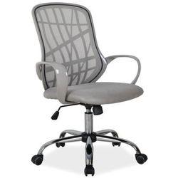 Obrotowe krzesło biurowe dexter szary marki Signal