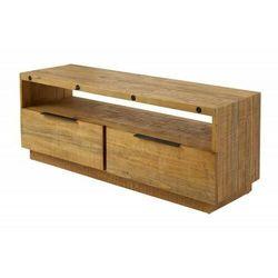 Invicta stolik rtv finca 150 cm sosna - drewno naturalne, metal marki Sofa.pl