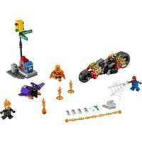 Lego SUPER HEROES Spiderman: atak upiornych jumperów spider-man: ghost rider team-up 76058
