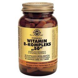 Formula witamin B-komplex 50, kaps., 50 szt (artykuł z kategorii Witaminy i minerały)