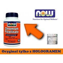 Chromium Picolinate 200 mcg - 100 kapsułek - kapsułki tabletki na odchudzanie