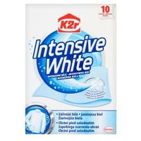 Chusteczki do prania K2r Intensive White (10 sztuk)